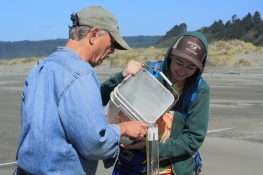 Slug Test Clam Beach - Hydrogeology